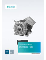 Low-Voltage Motors SIMOTICS SD – 1LE5 355 - 1000 kW - Catalog Add-on D 81.1 AO - Edition 03/2018 © Siemens AG 2020, All rights reserved
