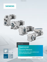 SIMOGEAR Geared Motors - Helical, parallel shaft, bevel, helical worm and worm geared motors Catalog MD 50.1 © Siemens AG 2020, All rights reserved