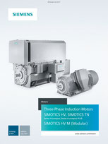 Three-Phase Induction Motors SIMOTICS HV, SIMOTICS TN Series H-compact, Series H-compact PLUS SIMOTICS HV M (Modular) Catalog D 84.1 © Siemens AG 2018, Alle Rechte vorbehalten