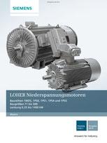 LOHER Niederspannungsmotoren Baureihen 1MD5, 1PS0, 1PS1, 1PS4 und 1PS5 Baugrößen 71 bis 500 Leistung 0,25 bis 1400 kW Katalog D 83.1 © Siemens AG 2019, Alle Rechte vorbehalten