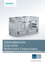 FLENDER Zahnradgetriebe Gear units Réducteurs à engrenages Catalog MD 20.11 © Siemens AG 2020, All rights reserved