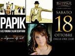 registrazione doppio cd live per Papik