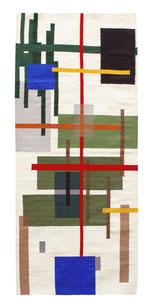 wollteppich, contemporary art, julian cording, artist