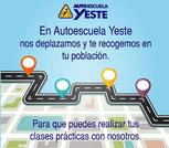 Autoescuela Biar, Benejama, Campo de Mirra, Sax, Pinoso, Cañada, Elda