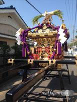 本社神輿 AM8:50