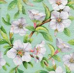 Servilletas para decoupage decoradas con sakuras o flores de cerezo.