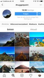 schöne Orte finden mit Instagram
