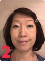 顔ヨガビフォーアフター1か月後の表情