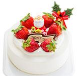 苺クリスマスケーキ