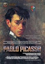 """Brochure Premio """"Pablo Picasso"""". Progetto grafico Dario Chiavarini"""