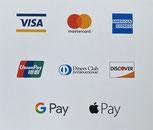 Akzeptierte Zahlungsmittel