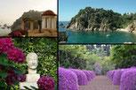 ботанический сад на Коста Брава