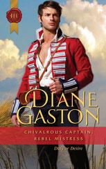 Chivalrous Captain Rebel Mistress by Diane Gaston