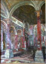 August von Brandis, Ölgemälde San Sebastiano,Venedig, € 1350,00