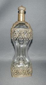 Große, Gluckerflasche Messingmontur, Historismus, 34,0 cm, 1200 ml , € 220,00