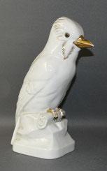 Porzellanfigur, Eichelhäher, Galluba und Hoffmann, Ilmenau, Gold, 25,5 cm , € 115,00
