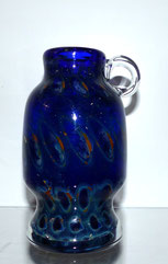 Eisch Vase Pfauenauge, 2. Hälfte 20. Jhd., 85,00