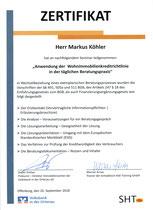Zertifikat Wohnimmobilienkreditrichtlinie