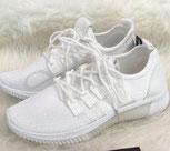 Sneaker weiß Turnschuh Sportschuh weiß