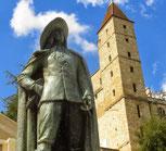d'Artagnan, musée, des Jacobins, cathédrale Ste Marie, Auch, Flaran, la baïse