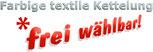 Autofussmatten - in schwarz oder grau, farbige und textile Kettelung FREI WAEHLBAR/13 Kettelfarben