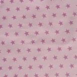 rosa mit dunkleren Sternen