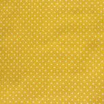 gelb mit weissen Punkten