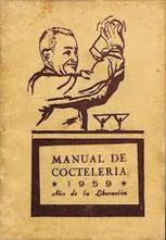 Manual de Coctelería - Año de la liberación 1959