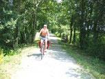 randonnée à pied ou VTT : la voie verte St Pardoux-Thviers
