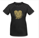 Wow: Gold-on-Black Aries Shirt