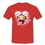 Aries Power Shirt: Red