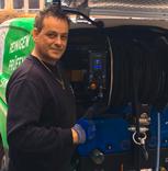 Herr Sven Preuß ,gelernter Gas- und Wasser Installateur, Zertifizierter Sachkundiger nach §61 LWG