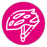Icône casque de vélo