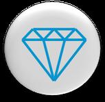 Button, glanz, diamant, intensive pflege