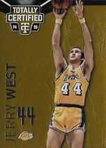 JERRY WEST / Gold Version - No. 139  (#d 10/10)