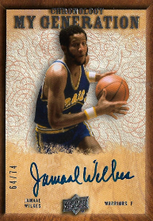 JAMAAL WILKES / My Gerneration - No. MG-JW  (#d 64/74)
