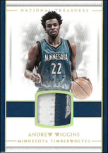 ANDREW WIGGINS / 3clr Patch - No. 13  (#d 20/25)