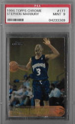STEPHON MARBURY / Rookie card - No. 177