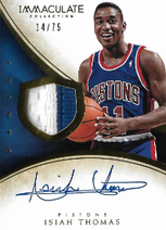 ISIAH THOMAS / Auto Patch - No. 153  (#d 14/75)