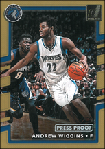 ANDREW WIGGINS / PressProof - No. 88  (#d 5/10)