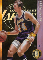 JERRY WEST / Gold Standard Black - No. 152  (#d 15/15)