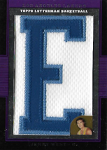 JERRY WEST / Letterman Patch - No. LP-JWE  (#d 4/9)