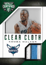 KEMBA WALKER / Clear Cloth - No. 17  (#d 3/5)