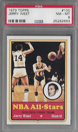 JERRY WEST / Base card - No. 100
