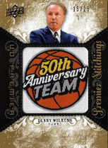 LENNY WILKENS / Premier Stitchings - No. PS-LW  (#d 15/25)