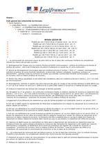 Article L5214–16 du CGCT