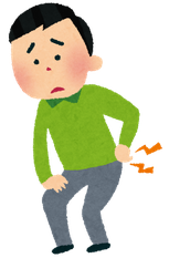 奈良県香芝市の腰痛の男性