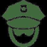 icone représentant un policier