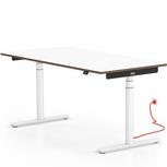 Home Office - Höhenverstellbarer Schreibtisch Einzelplatz