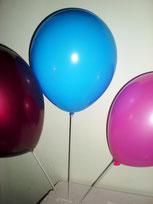 Ballons sur tige